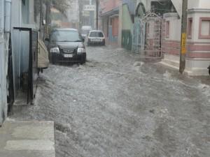 Unwetter Überschwemmung