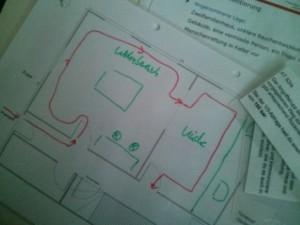 Lagedarstellung Planspiel